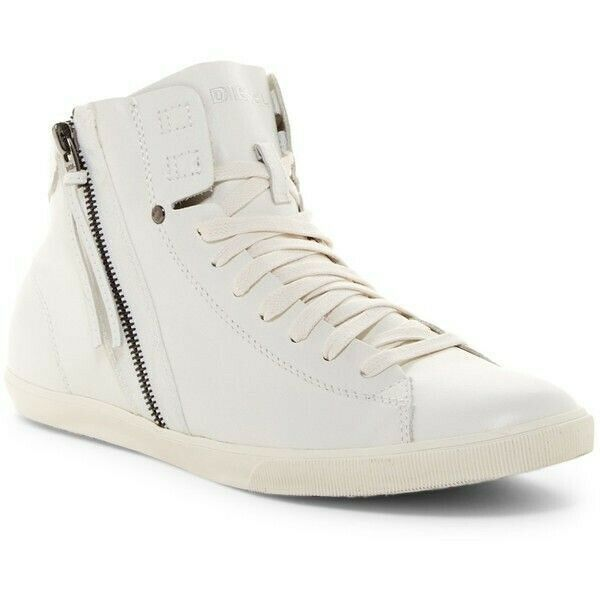 Diesel Womens Beach Pit W RGS Y02058 Sneakers White Size UK 6 - $118.84