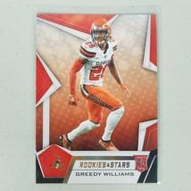 2019 Greedy Williams Panini Rookies & Stars RC #162 CB Cleveland Browns ... - $6.99