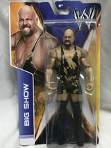 WWE Basic Series Big Show Camouflage 2013 NEW Shelf Wear Camo - $49.50
