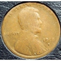 1912-D Lincoln Wheat Penny G #0127 - $5.59