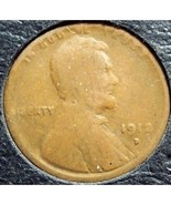 1912-D Lincoln Wheat Penny G #127 - $5.59