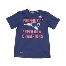 Nike New England Patriots Super Bowl Men's Dri-Fit T-Shirt Size Small NFL - $9.89