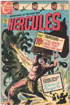 Hercules Comic Book #10 Charlton Comics 1969 FINE+/VERY FINE- - $18.30