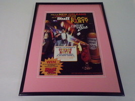 2004 Cowboy Mouth / Southern Comfort Framed 11x14 ORIGINAL Vintage Adver... - $32.36