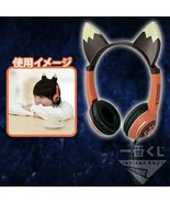 NEW Monster Hunter XX Ichiban Kujibiki A prize Cat Ear Earphone F/S from... - $89.98