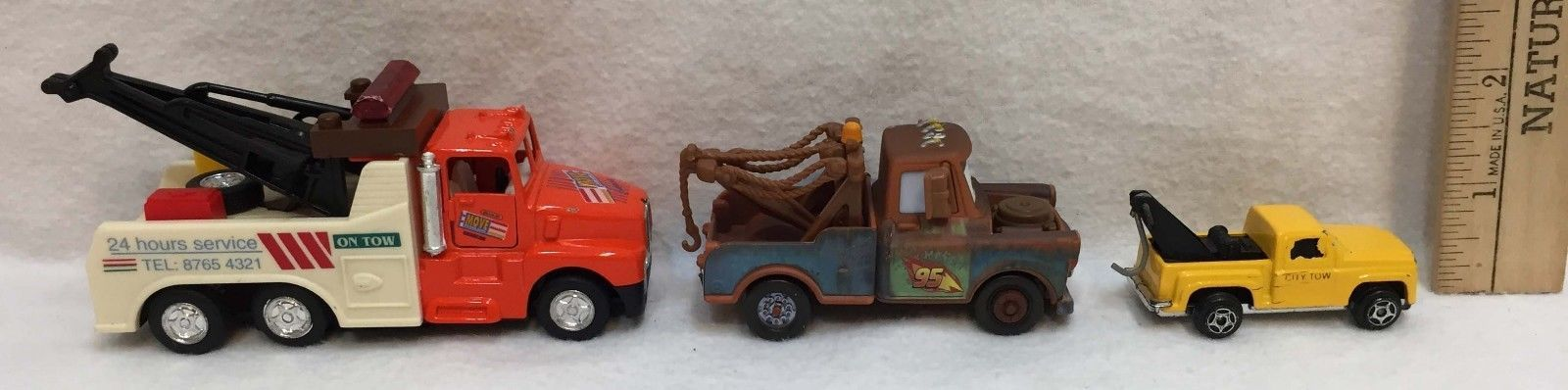 Tow Trucks Toys Kintoy Disney Pixar Mater Die Cast Metal & Plastic Lot of 3