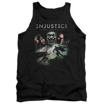 Injustice Gods Among Us - Key Art Adult Tank Top Officially Licensed Apparel - $20.99+