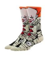 It Movie Pennywise Clown Adult 360 Crew Socks - $9.99