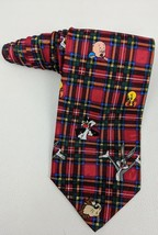 "Looney Tunes Mania Tie 4"" Wide 58"" Long   (t) - $3.64"