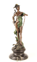 Bronze Sculpture shows Diana Victorious decor office * Free Air Shipping  - $479.00