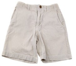 GAP Kids Boys Cotton Pin Stripe Sailing Shorts Adjustable Waist Beige Iv... - $4.94
