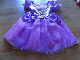 Toddler Size 3-4 T Disney Tangled Princess Rapunzel Halloween Costume Dress EUC - $38.00