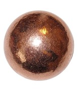 Satin Crystals Copper Ball Premium Alchemist Shiny Metal Sphere Positive Healing - $74.25