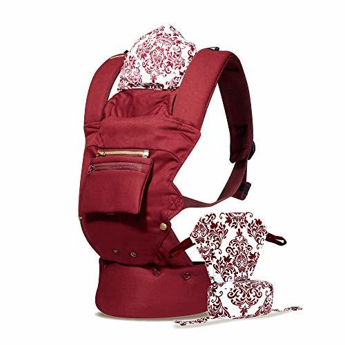 Naforye So-Flexible Baby Carrier (Burgundy)