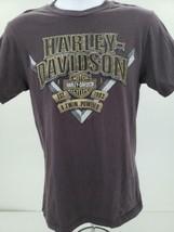 Harley Davidson Buffalo New York Mens Gray T-Shirt Size S - $37.36