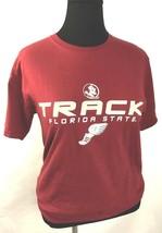 Fsu Florida State University Womens Track Tee M - $12.64