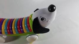 LeapFrog Alphapup Green Toddler Baby Pull Singing Talking Dog Toy Education Fun - $14.85