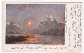Land of the Midnight Sun Scandinavia 1906 postcard - $5.94