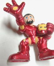 Marvel Super Hero Squad Iron Man Holding Helmet 2008 image 5