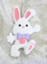 Charming Hallmark Bunny Rabbit Brooch 1980s Vintage - $12.30