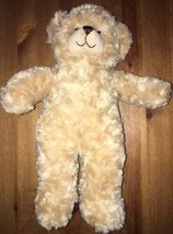 "17"" Beige Teddy Build-a-Bear Plush Stuffed Animal - $9.00"