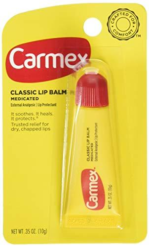 Carmex Classic Lip Balm 0.35 Ounce 3 Count Pack of 3