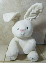 Gund Baby Flora The Bunny Peek-a-Boo Animated Talking &Singing Plush Toy... - $24.70