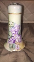 ANTIQUE O.&E.G. ROYAL AUSTRIA HATPIN HOLDER HAND PAINTED. FREE SHIPPING!! - $32.73