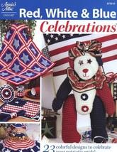 Red White & Blue Celebrations Flag Crochet PATTERN/INSTRUCTIONS Afghan, ... - $4.47