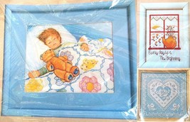 3 Unopened Embroidery Kits Dreamland New Beginning Lacy Heart Creative C... - $19.79