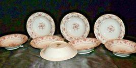 Noritake China (8 Dessert Bowls) Charmaine 5506 AA20-2360H Vintage image 5