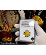 COLOMBIA 1667 2 ESCUDOS NGC 62 TREASURE 1715 FLEET PIRATE GOLD COINS SHI... - $4,950.00