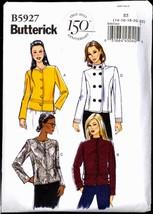 Unc Sz 14 16 18 20 22 EASY Lined Jacket Butterick 5927 Pattern Bust 36 – 44 - $6.99