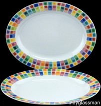 Fitz & Floyd GYPSY CHICKS Large Serving Platters NWT UNUSED (Set of 2) - $39.96