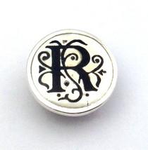 Authentic Kameleon Silver Letter R Mother of Pearl Jewelpop Jewel Pop Kjp013mp - $25.17