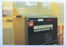 Vtg orignal photograph NCR early tech terminal 1980s National Cash Register - $10.40