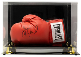 Irish Mickey Ward Signed Red Left Hand Everlast Boxing Glove w/Case JSA ITP - $174.59