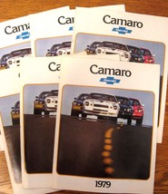 1979 Chevy Camaro Brochure Lot:  6 pcs, Xlnt Original Z28 - $14.29