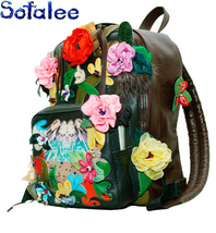 Handmade Leather Backpack, Exclusive Women's Backpack, Genuine Leather B... - $147.00
