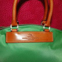Dooney & Bourke Nylon Green Satchel Handbag NWT image 4