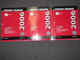 2006 Chevrolet Chevy Corvette Service Shop Repair Manual Set FACTORY BRA... - $435.55