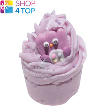 Owl City Bath Mallow Bomb Cosmetics Floral Lavender Handmade Natural New - $3.85