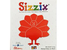 Sizzix Turkey Die #38-0248 - $5.39