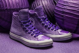 Converse Chuck Taylor All Star X Nike Flyknit Grape Purple 70s original ... - $77.39