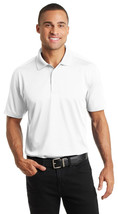Port Authority K569 Diamond Jacquard Polo Shirt - White - ₹1,149.05 INR+