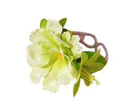 1 Pair Of Unique Light Green Flowers Beach Bracelets Lace Bracelets Jewelry