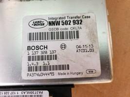 05-09 Range Rover Sport LR3 4x4 4WD TCCM Transfer Case Module NNW-502-932 image 2