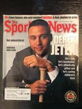 2002 July Sporting News Good Guys Derek Jeter New York Yankees Hall of Fame - $4.99
