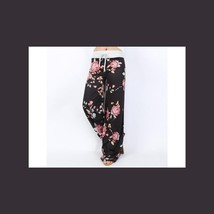 NEW Women's Floral Print Casual Yoga Pants Loose Trousers - $7.71