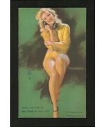 Mutoscope Pin Up Earl Moran Art Vending Penny Arcade Exhibit Card Teleph... - $14.99